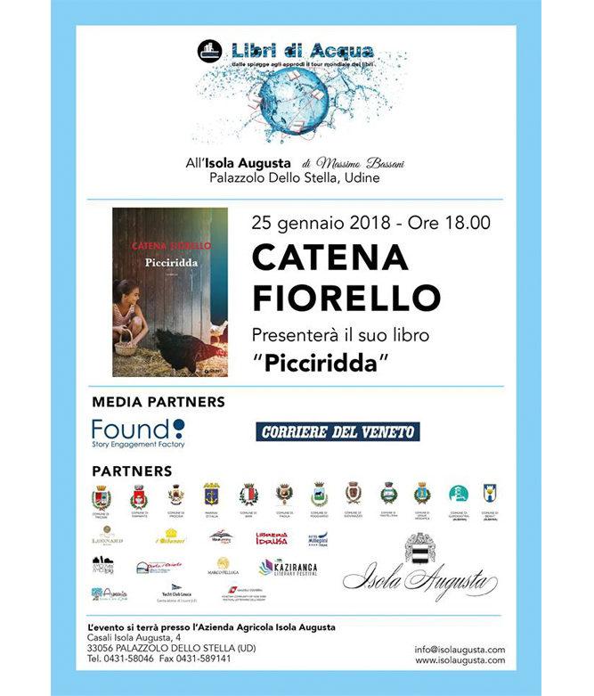 """Catena Fiorella presenta il suo libro """"Picciridda"""""""