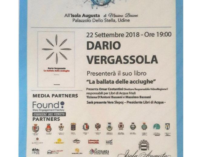 """Dario Vergassola presenta il suo libro """"La ballata delle acciughe"""""""