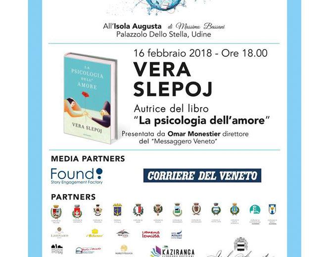 """Vera Slepoj presenta il suo libro """"La psicologia dell'amore"""""""